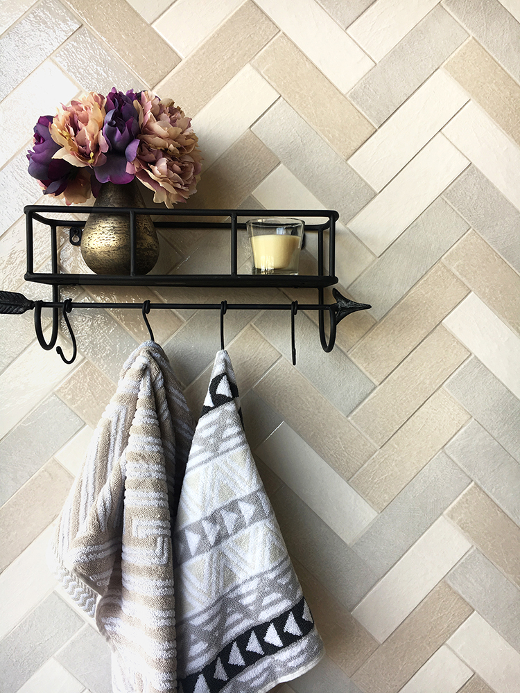 herringbone pattern tiles